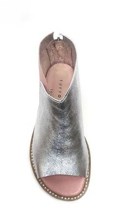 Nowość Włoskie sandałki  Silver Pik Pearl 1520004LL