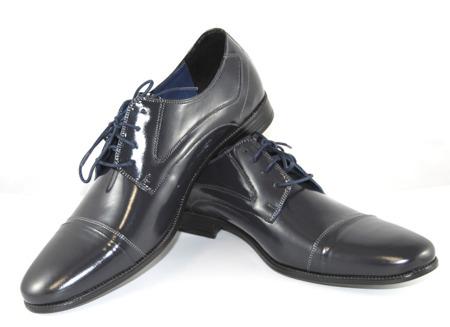 Pantofle męskie granatowe Lemi 755N