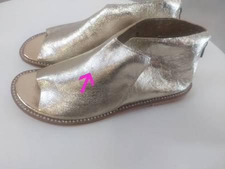 Sandały marki Tuffoni Złoto 1520004LL  Gatunek 2